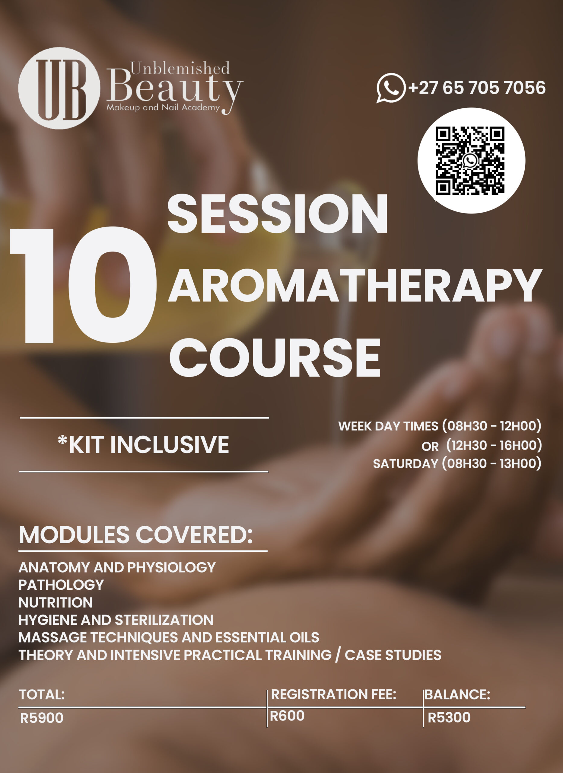 Unblemished Beauty Course Posters- Aromatherapy 2