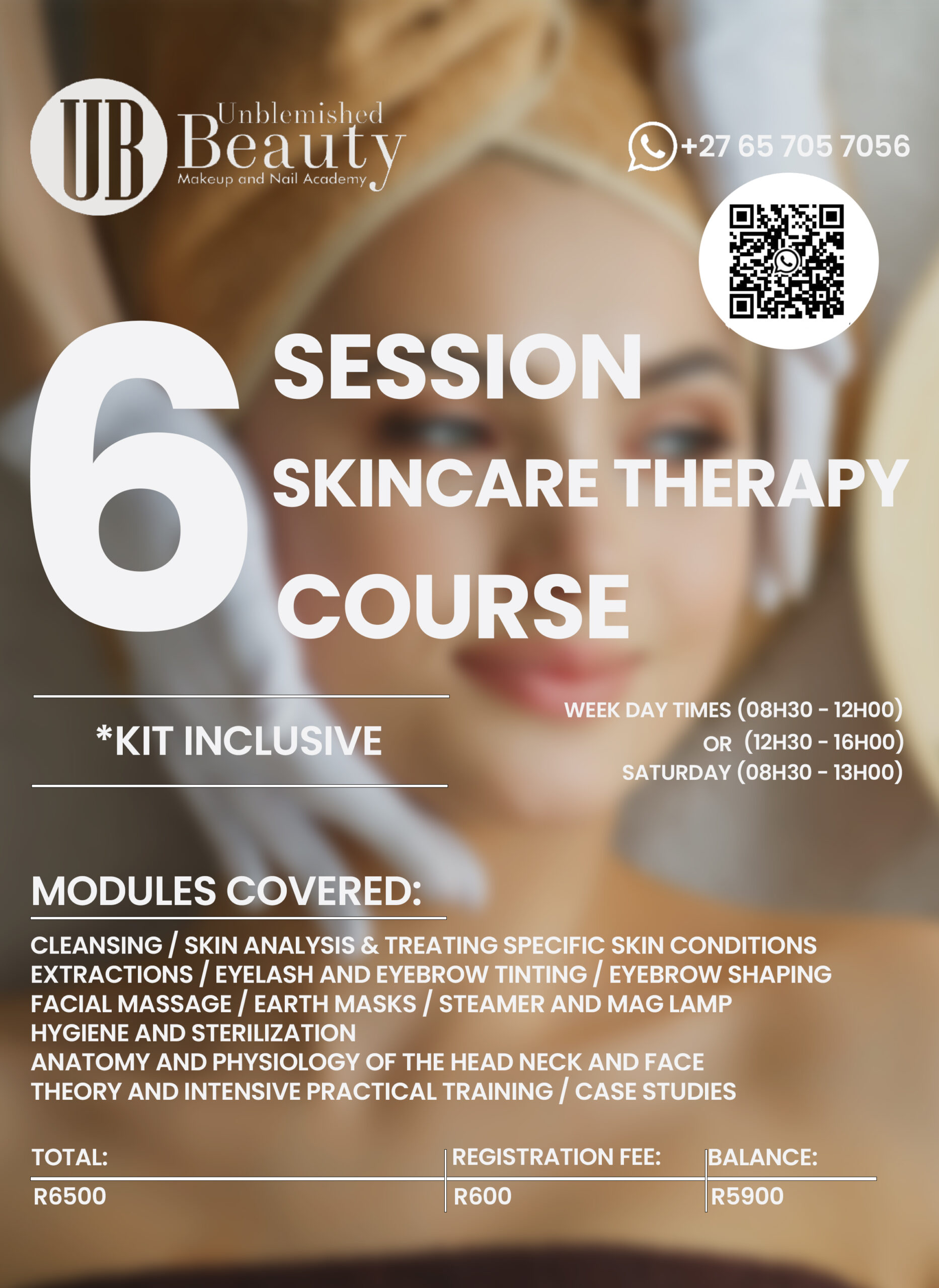 Unblemished Beauty Course Posters- Skincare Therapy 2